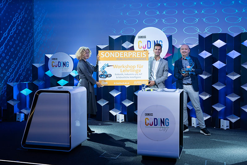 Melina schneider WKO coding day lehrlingshackathon publikumspreis app programmieren
