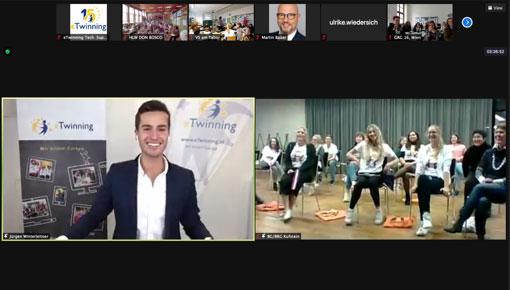 etwinning oead online-preisverleihung digital event moderator