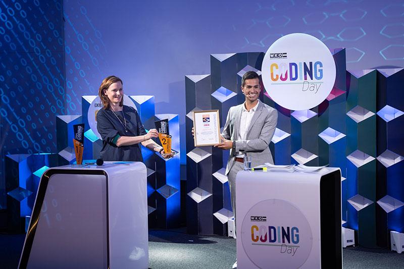 siegerehrung live online event wirtschaftskammer kühnel coding day