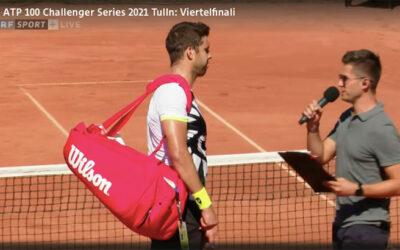tv moderator Sportmoderator live orf tennis
