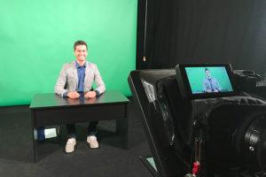 Moderator für online events 1 Truck TV Moderator / Nachrichtensprecher Jürgen Winterleitner News Anchor