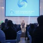 Galamoderator Jürgen Winterleitner als Zeremonienmeister in den Sofiensälen in Wien beim Gala-Abend zu 60 Jahre Engie Gebäudetechnik