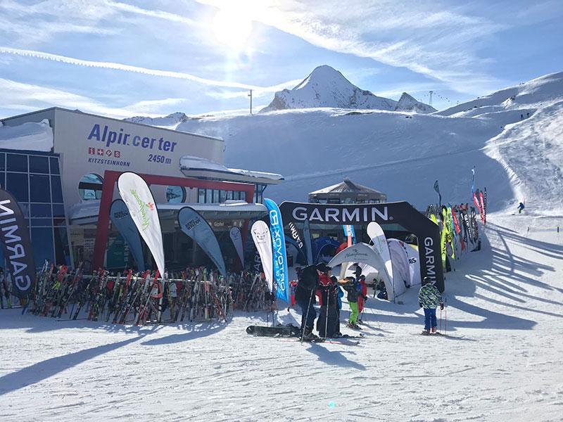 Bergwelten Skitouren Testival am Kitzsteinhorn in Salzburg mit Moderator Jürgen Winterleitner
