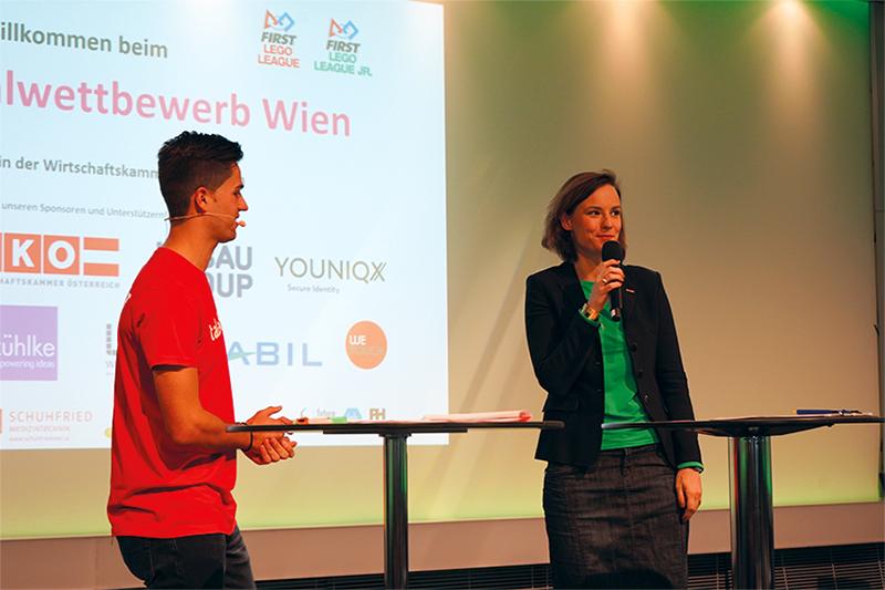 Generalsekretärstellvertreterin der Wirtschaftskammer Österreich, Mariana Kühnel, im Interview mit Jürgen Winterleitner