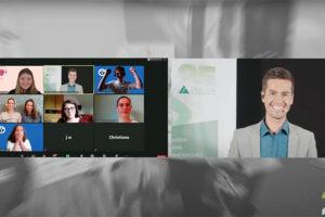 moderator online events hybrides event junior achievement österreich wettbewerb verkündung Gewinner live stream