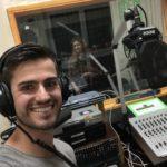 """Radiomoderator Jürgen Winterleitner in der Sendung """"Newborn - Die Bands von Morgen"""" auf Radio Orange 94.0"""