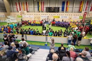 sport moderation sport zentrum niederösterreich stpoelten juergen winterleitner fußball turnier Spielerpass cup