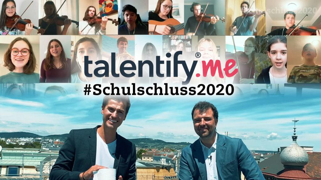 moderator video schulschluss 2020 talentify schüler schülerinnen ferienbeginn österreich juergen winterleitner bernhard hofer